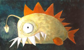 poisson à dents