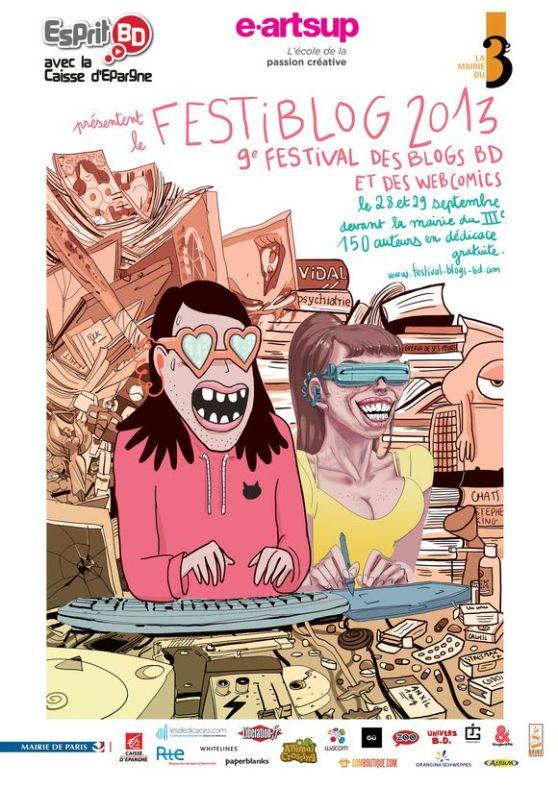 affiche festiblog 2013
